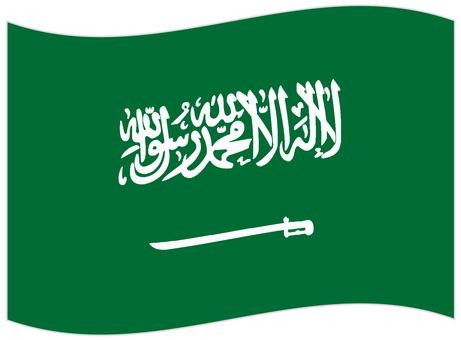 National flag _ Saudi Arabia