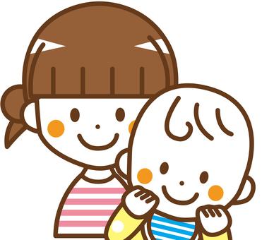 女孩和嬰兒_No.19