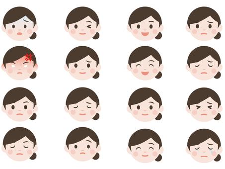 Female expression