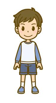 Boys (children): A_ Wait 01 FS