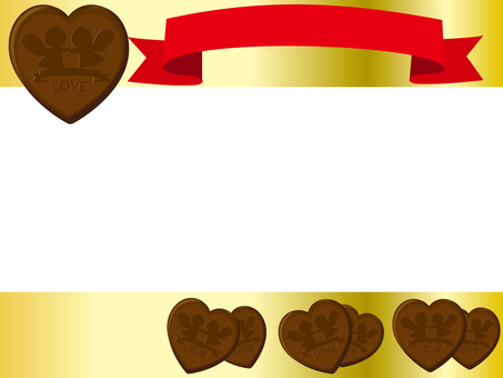 Valentine's Chocolate Frame 3 Transparent