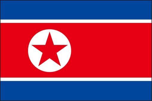 North Korea flag (without name)