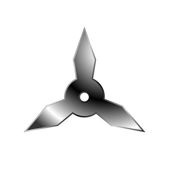 Three-side shuriken