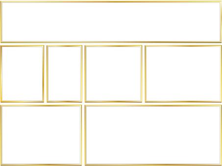金框架7大小