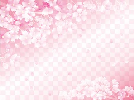 벚꽃 모양 3-2-2