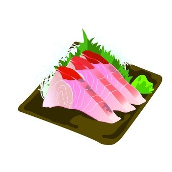 Sashimi of Kanpachi