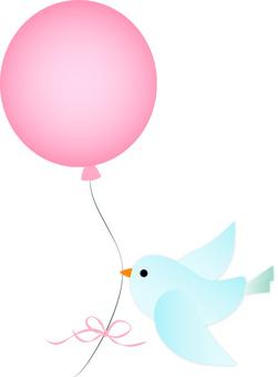 Bird balloon 2