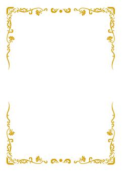 Asian style A4 frame (Kimcha)