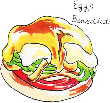 Hawaiian Food Egg Benedict