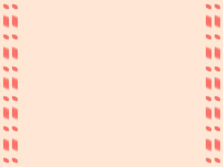 Side dotted frame (warm color)