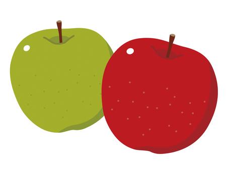 青蘋果和紅蘋果