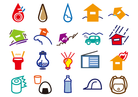 Disaster prevention icon