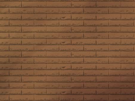 Brick background Brown