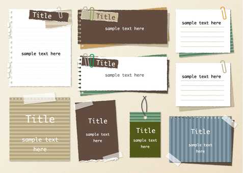 Notepad set 2