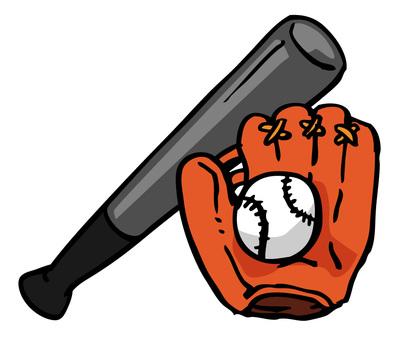 Baseball grab and ball and bat 01