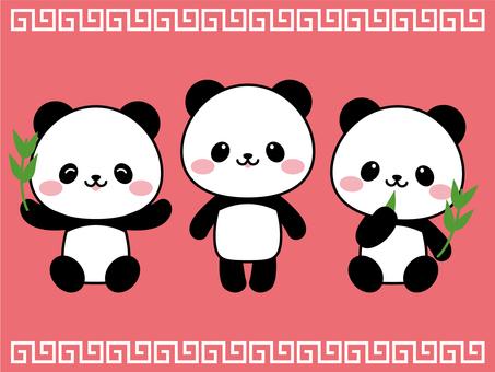 パンダちゃんセット