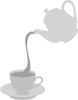 Tea set icon