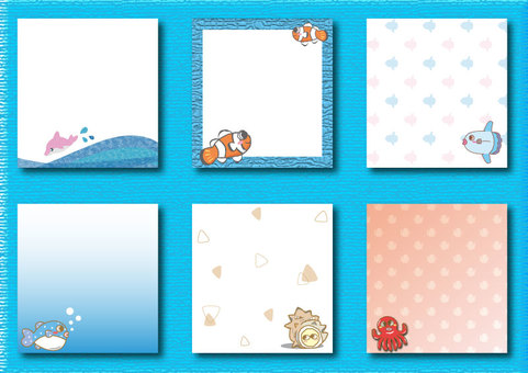 Sea Creatures Set 02
