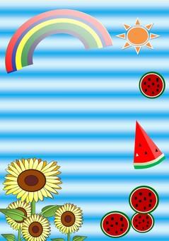 Summer vacation (watermelon)