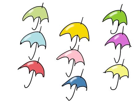 Umbrella flowers