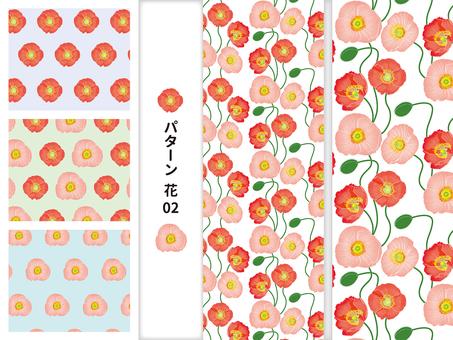 Pattern flowers 02