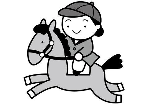 Horse riding 2c