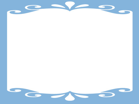 Light blue frame