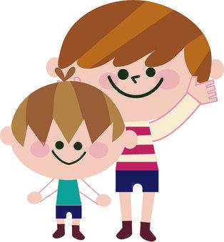 Brothers illustration