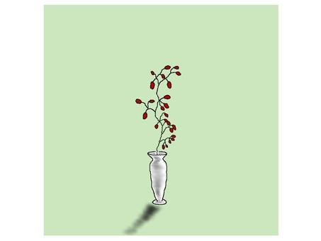 Flower vase flower