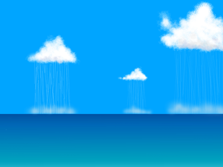 Rain curtain