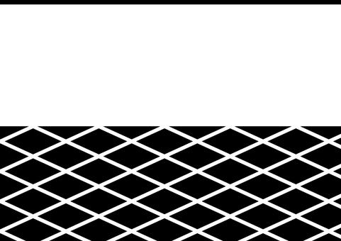 Japanese style _ Wall pattern _ Black