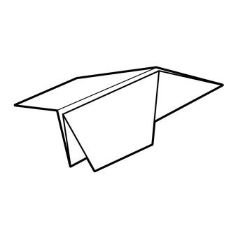 Paper flying machine 05
