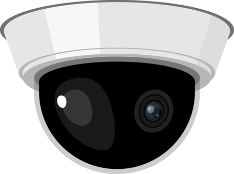 Security camera dome shape