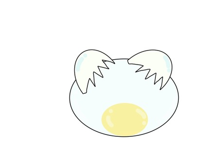 Message frame from egg