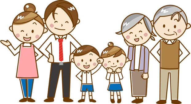 6 families _ A 17 [pastel]