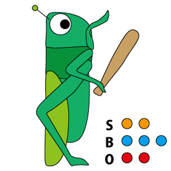 Grasshopper's batter