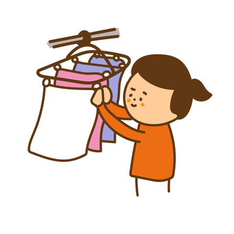Hang up the laundry