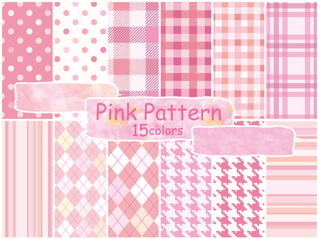 Pattern pink color pattern background Wallpaper Spring cute pattern
