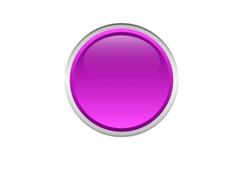 Round button (peach)