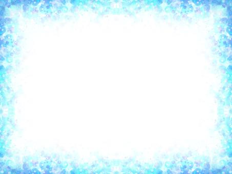 Dot frame 10 (blue)