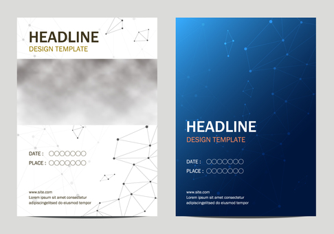 Poster template set