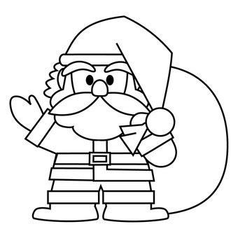 Santa Claus painting 2