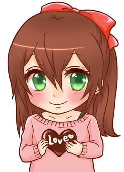 Chocolate and girls