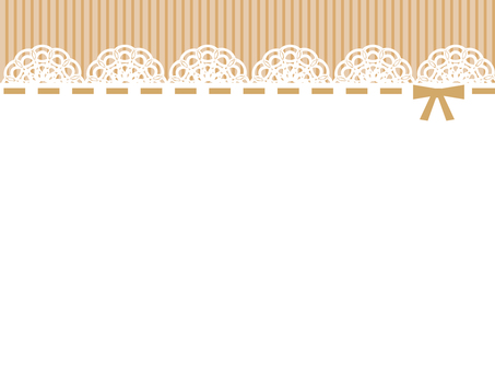 Lace Background Brown