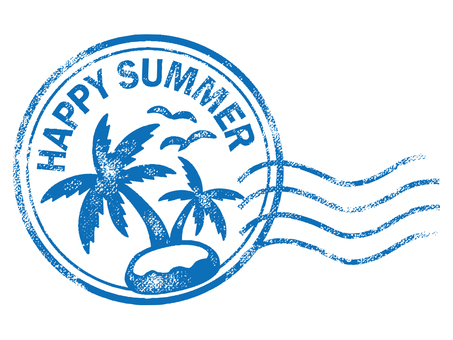 Postmark of summer stamp 002