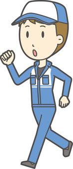 Male mechanic-292-whole body