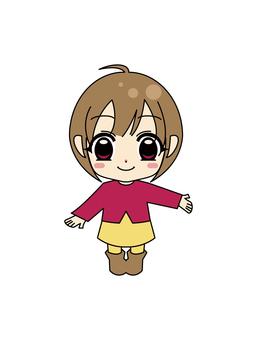 애니메이션 ☆ 소녀
