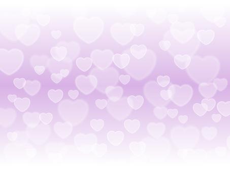 心形燈·淺紫色