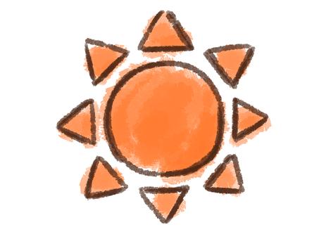 크레용 시리즈 [태양]