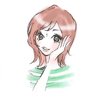 女人微笑1